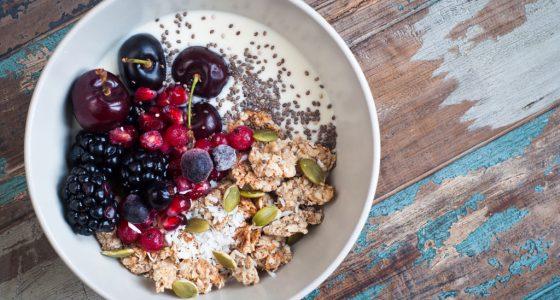 Bakning Granatapple Frukost Frukostbowl Bowl