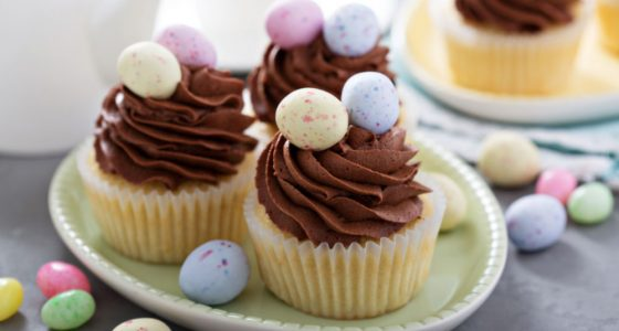 Bakning Muffins Pask Godis Choklad