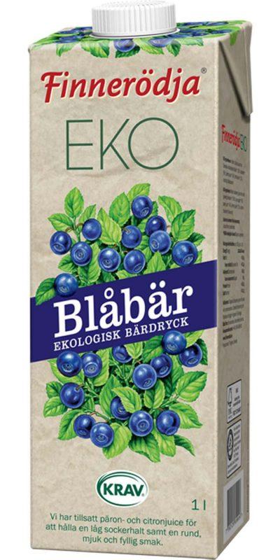 Bar Dryck KRAV Finnerodja Blåbär