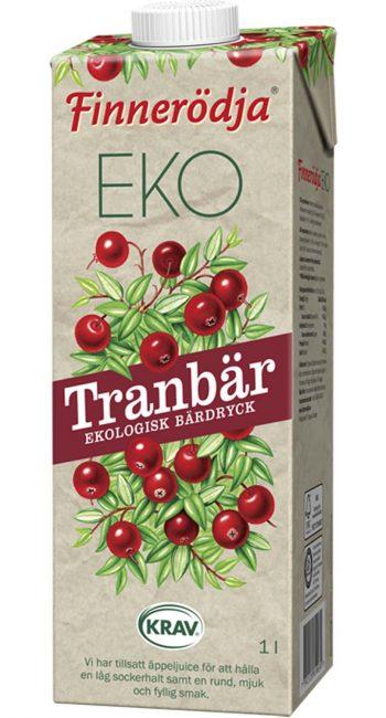 Bar Dryck KRAV Finnerodja Tranbär