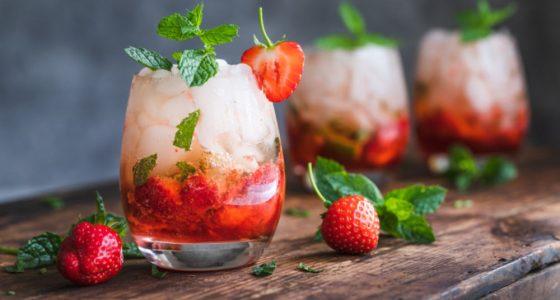Drinkar Strawberry Mojito Jordgubbar