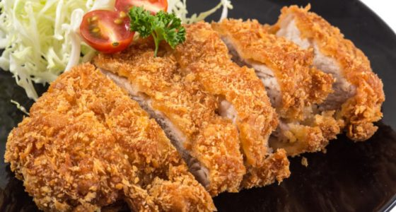 Huvudratt Japansk Schnitzel Tonkatsu
