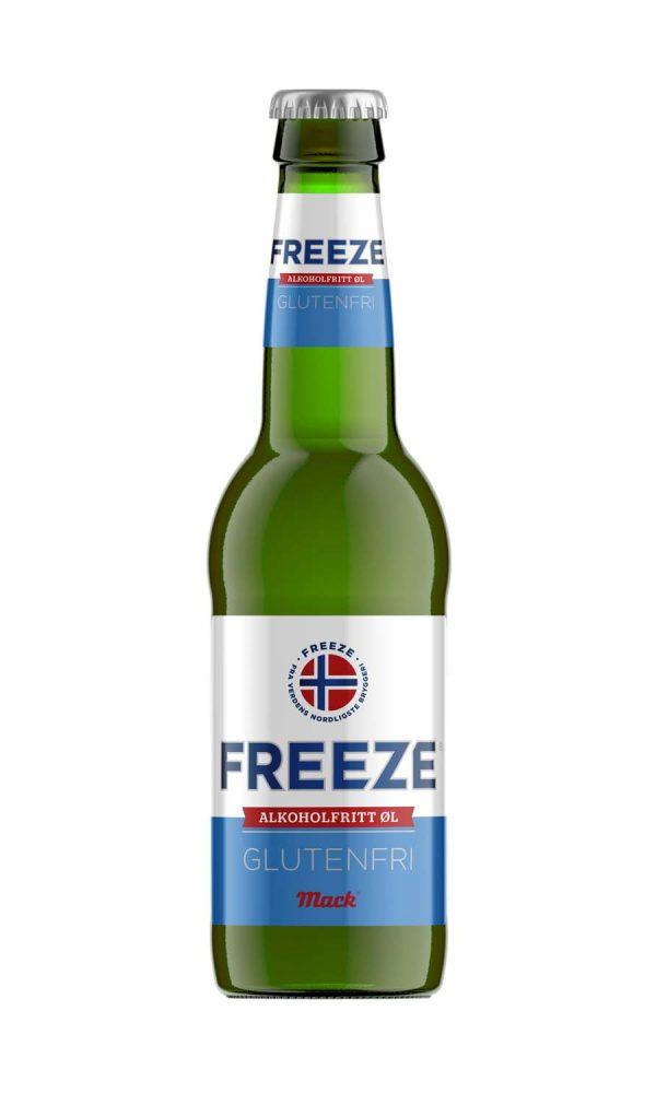 Ol Lager Mack Freeze Alkoholfri Glutenfri