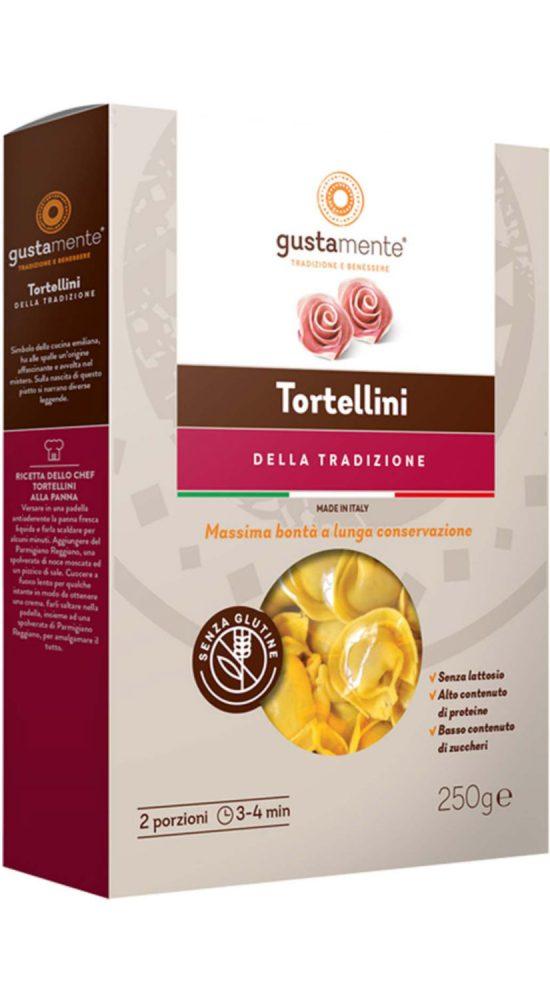 Pasta Glutenfri Gustamente Tortellini Skinka Parmesan NY